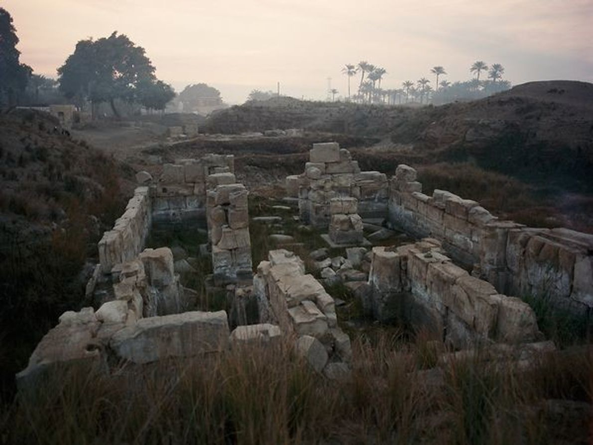 Ruinas de Tanis, Egipto