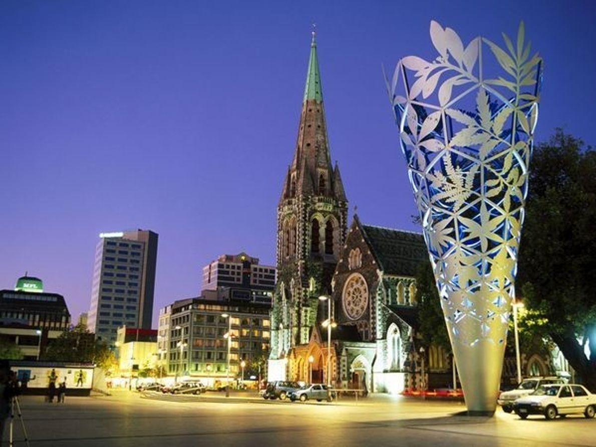 Plaza de la Catedral de Christchurch