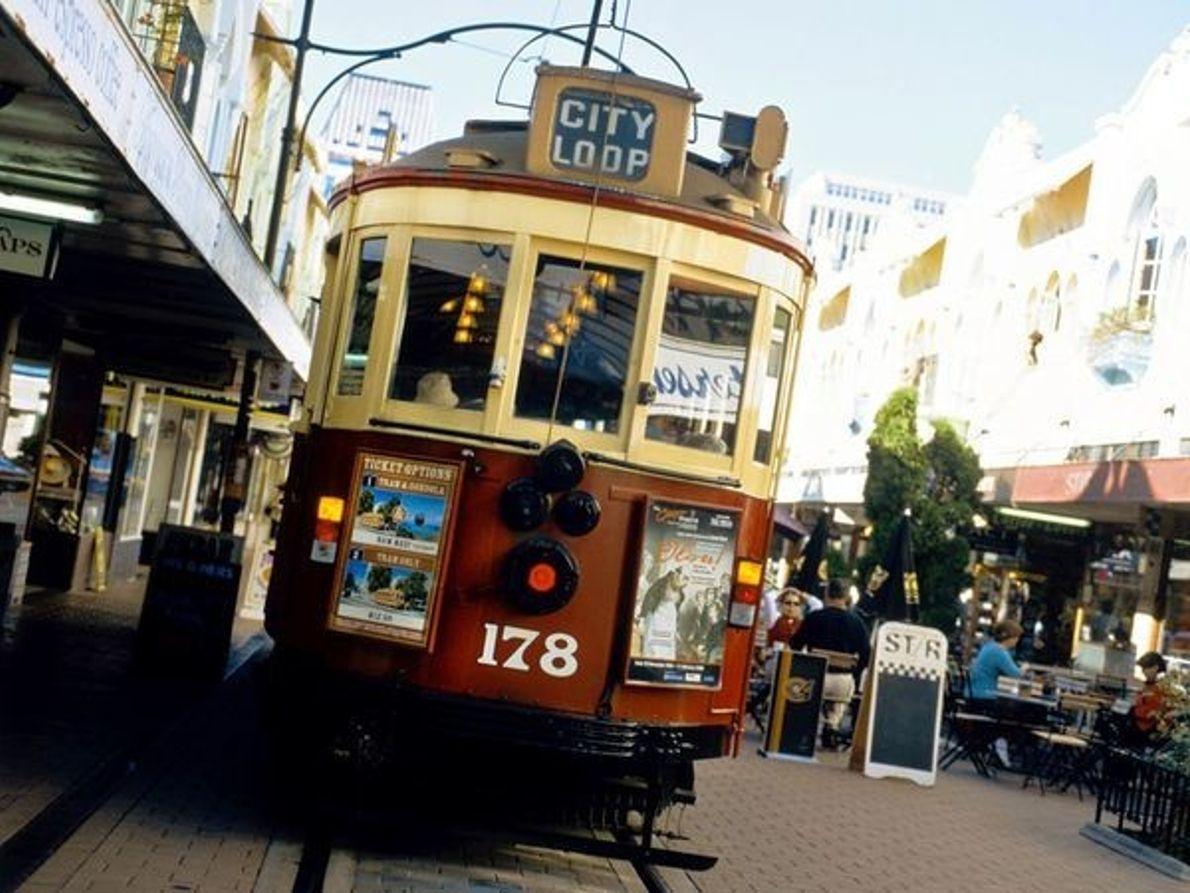 Tranvía, Christchurch