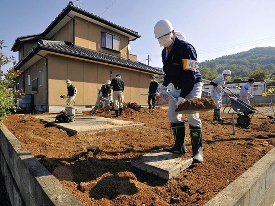 Luchando por limpiar Fukushima