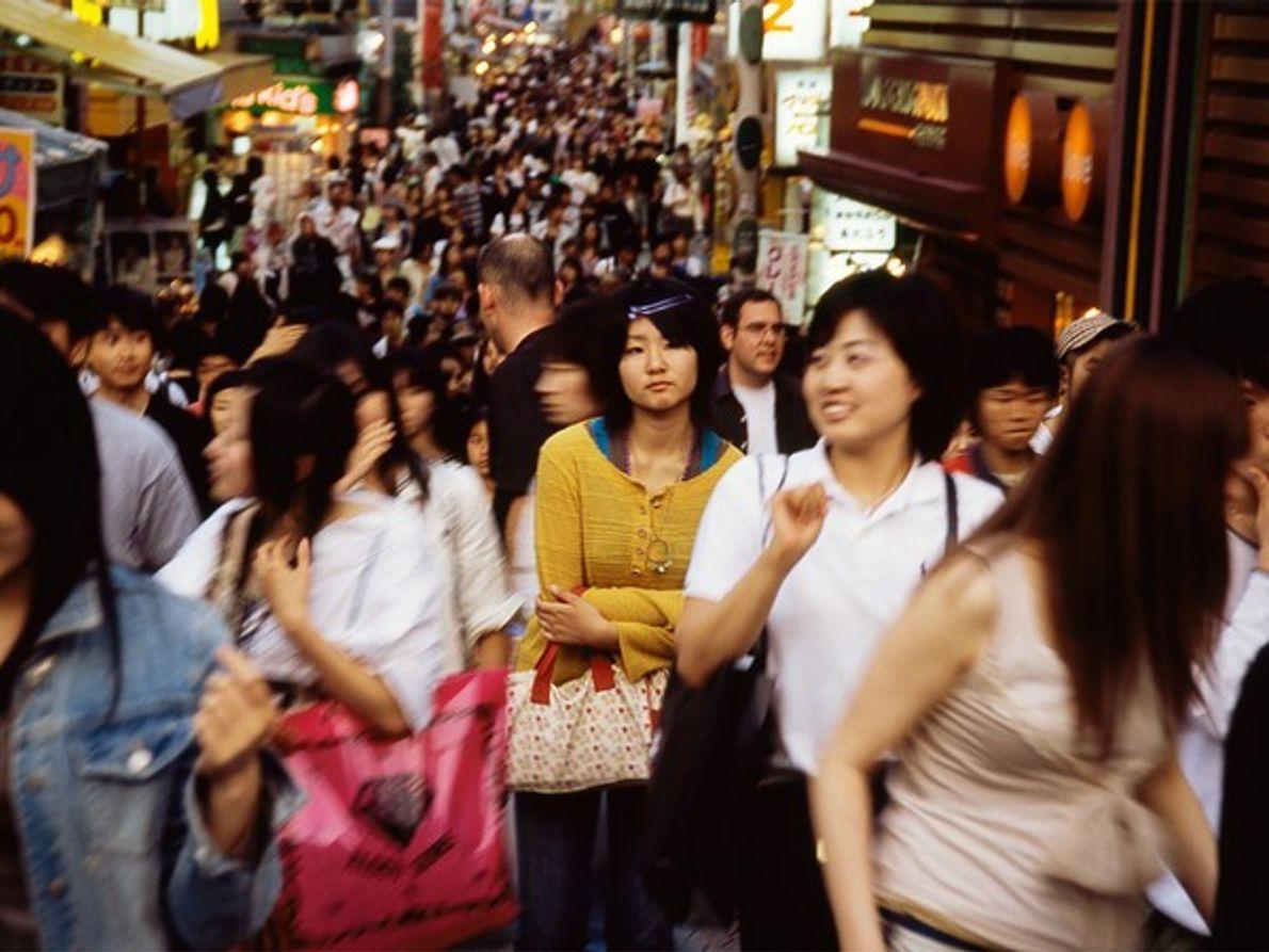 Tokio, el paraiso de los paseantes que aman las compras