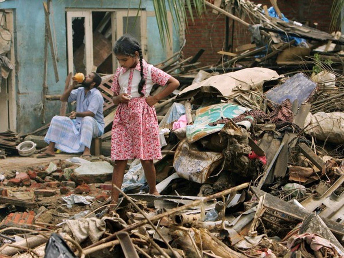 Limpiando Sri Lanka