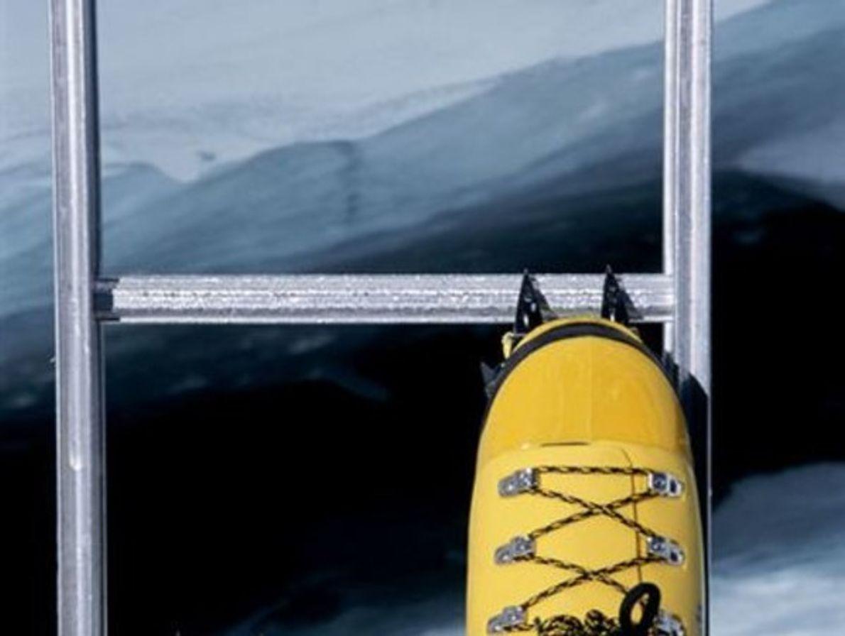 Grieta en el Everest