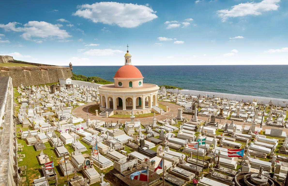 Cementerio de santa María Magdalena de Pazzi , San Juan, Puerto Rico
