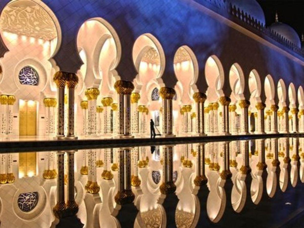Mezquita Zayed, Abu Dhabi, Emiratos Árabes Unidos