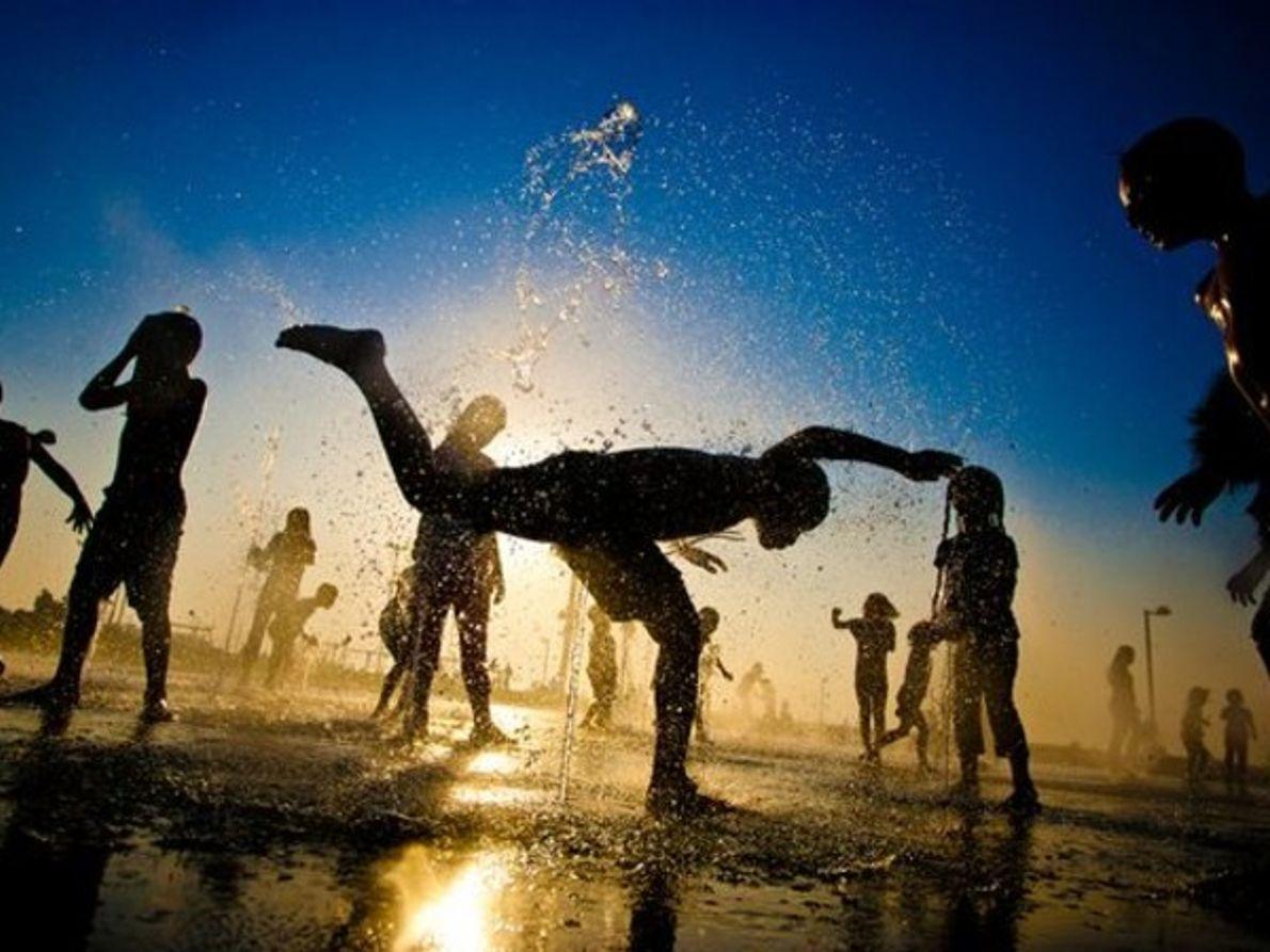 Niños, Tel Aviv, Israel