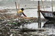 La contaminación en India