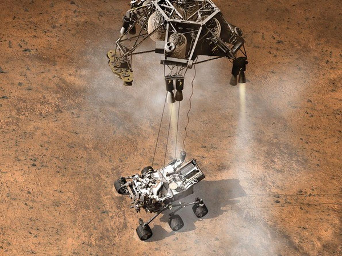Misiones a Marte malditas