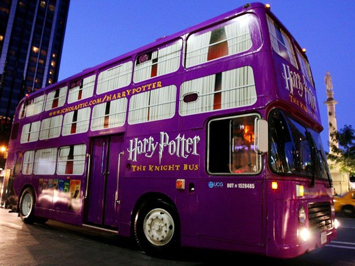 El Autobús Noctámbulo de Harry Potter
