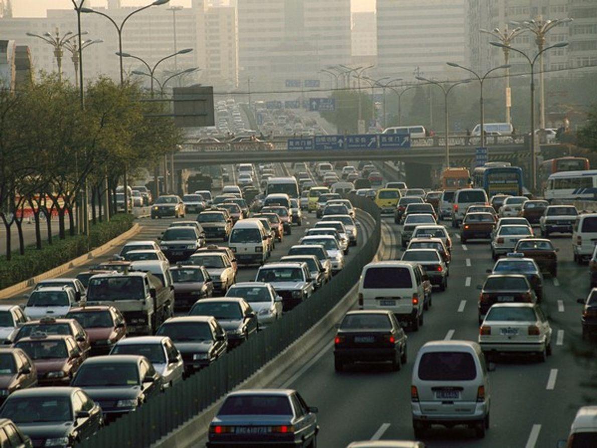 Tráfico por carretera en China