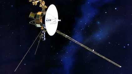 Las sondas Voyager detectan una luz «invisible» en la Vía Láctea