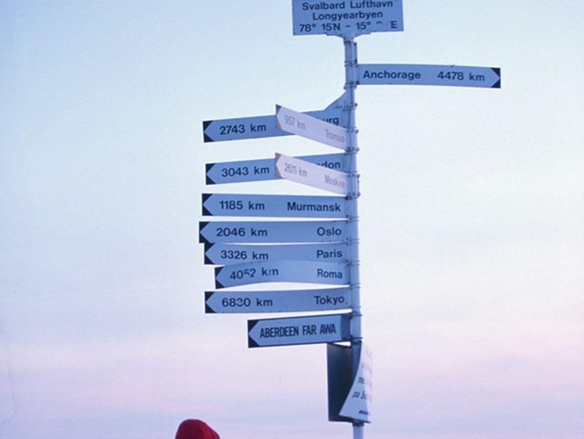 Aeropuerto de Svalbard, Noruega