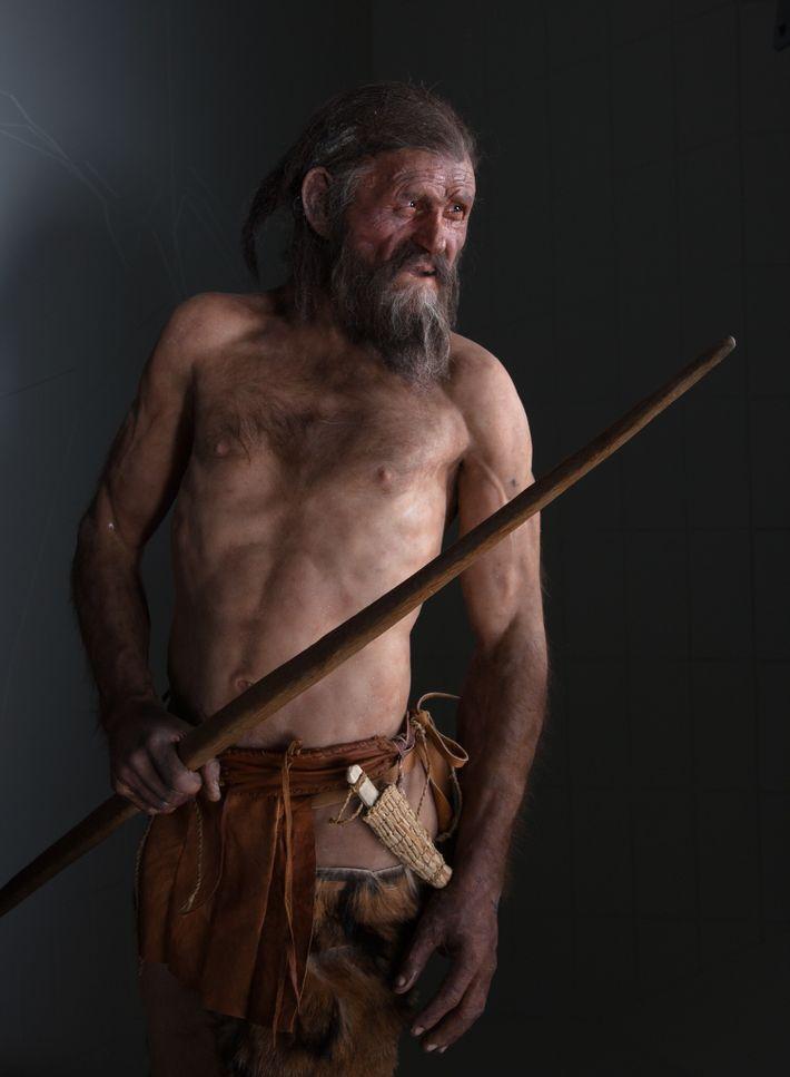 Ötzi, el hombre de los hielos