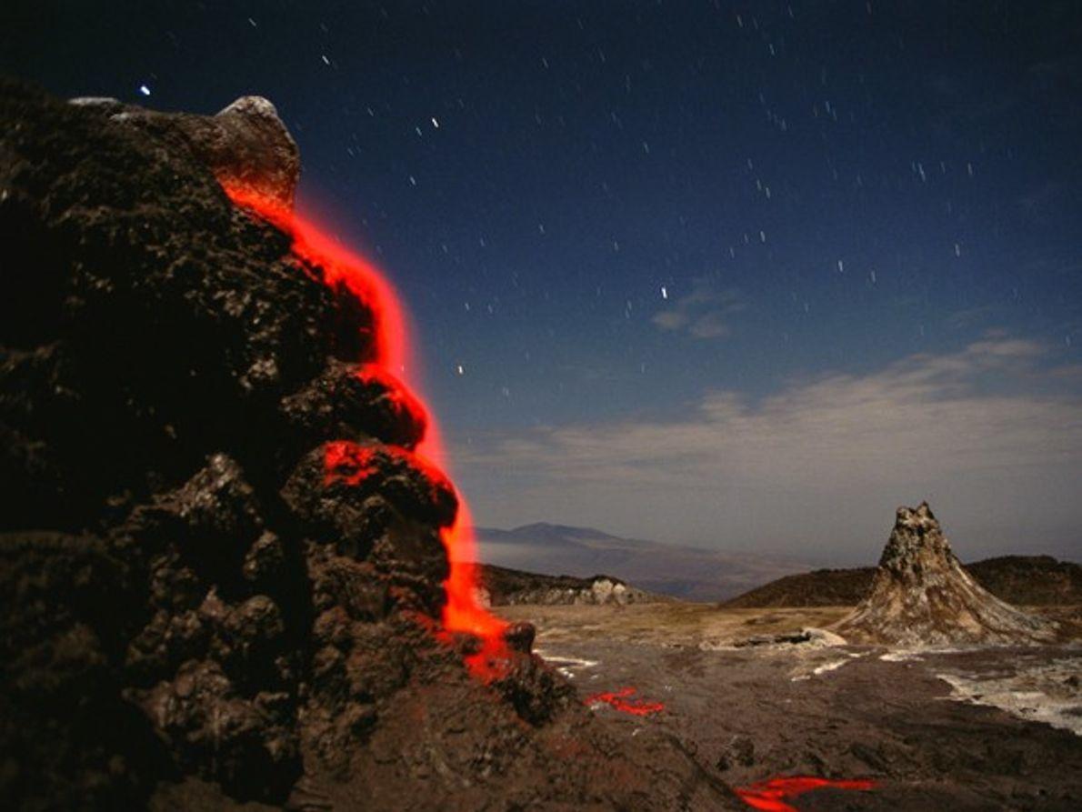 Volcán Ol Doinyo Lengai