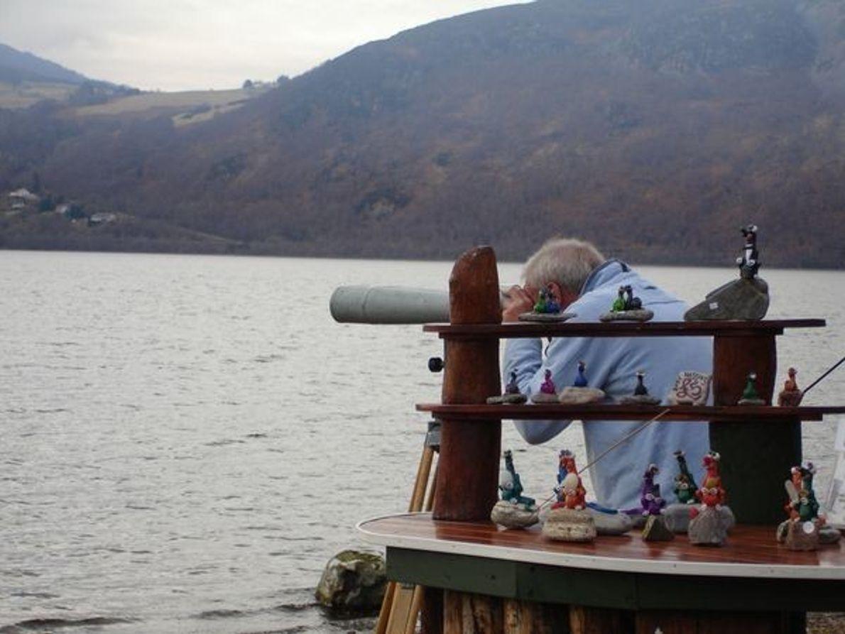 Escaneado del lago de Nessie