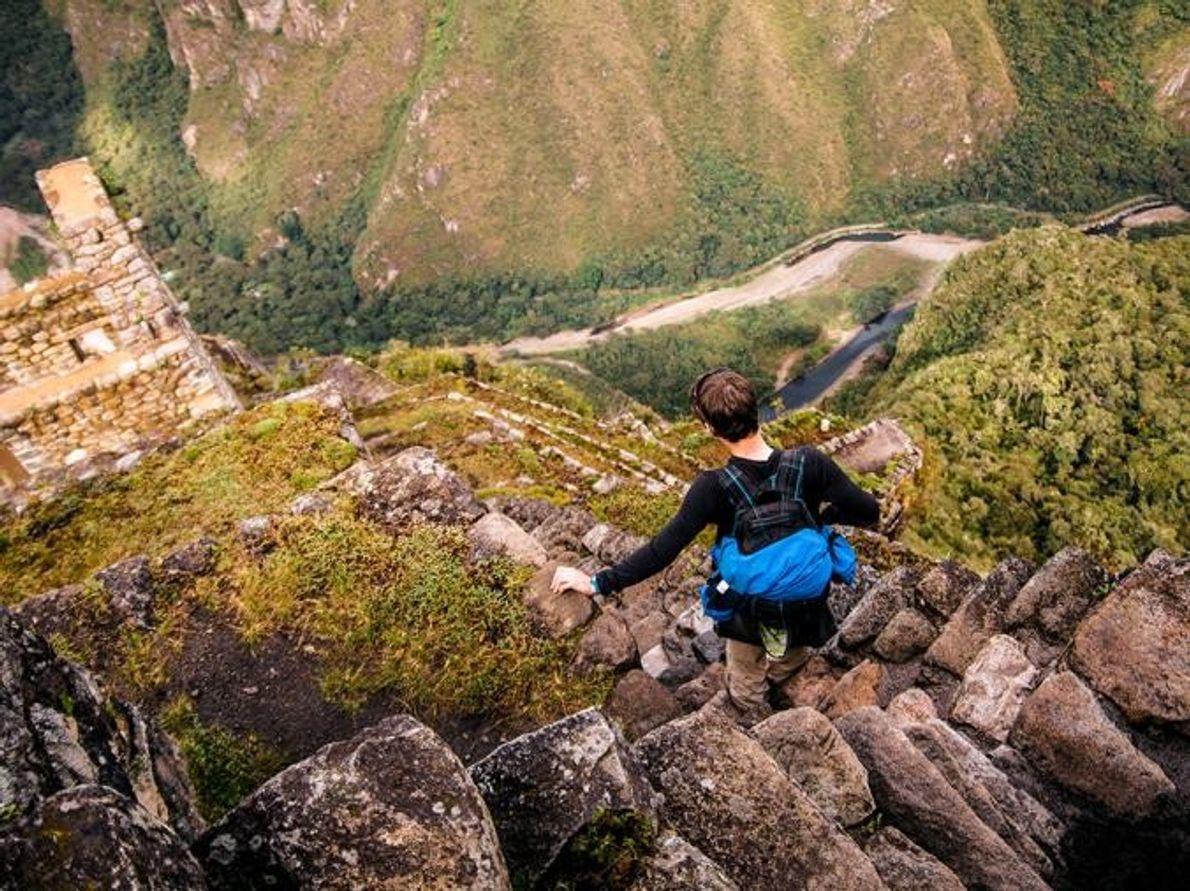 Huayna Picchu Machu Picchu, Perú