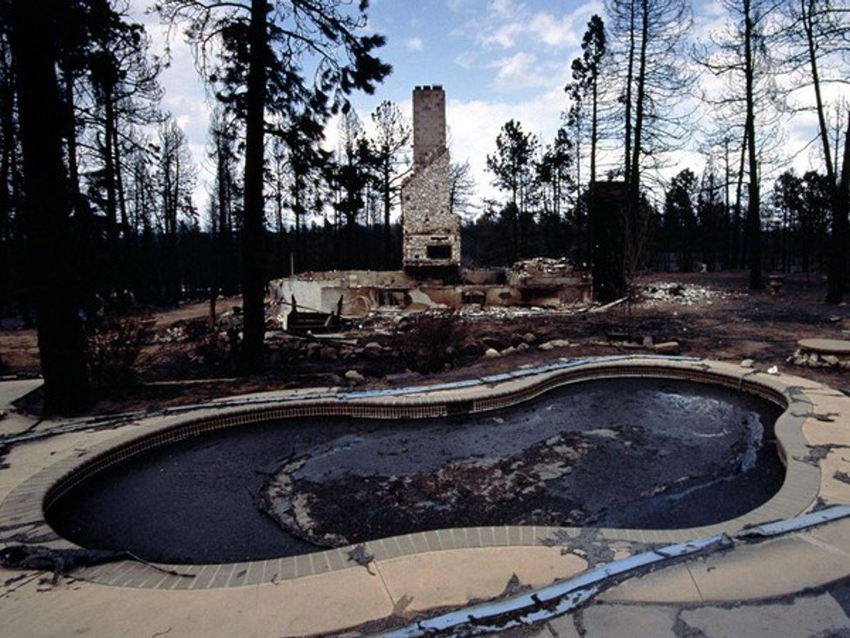 Consecuencias de un incendio en Colorado