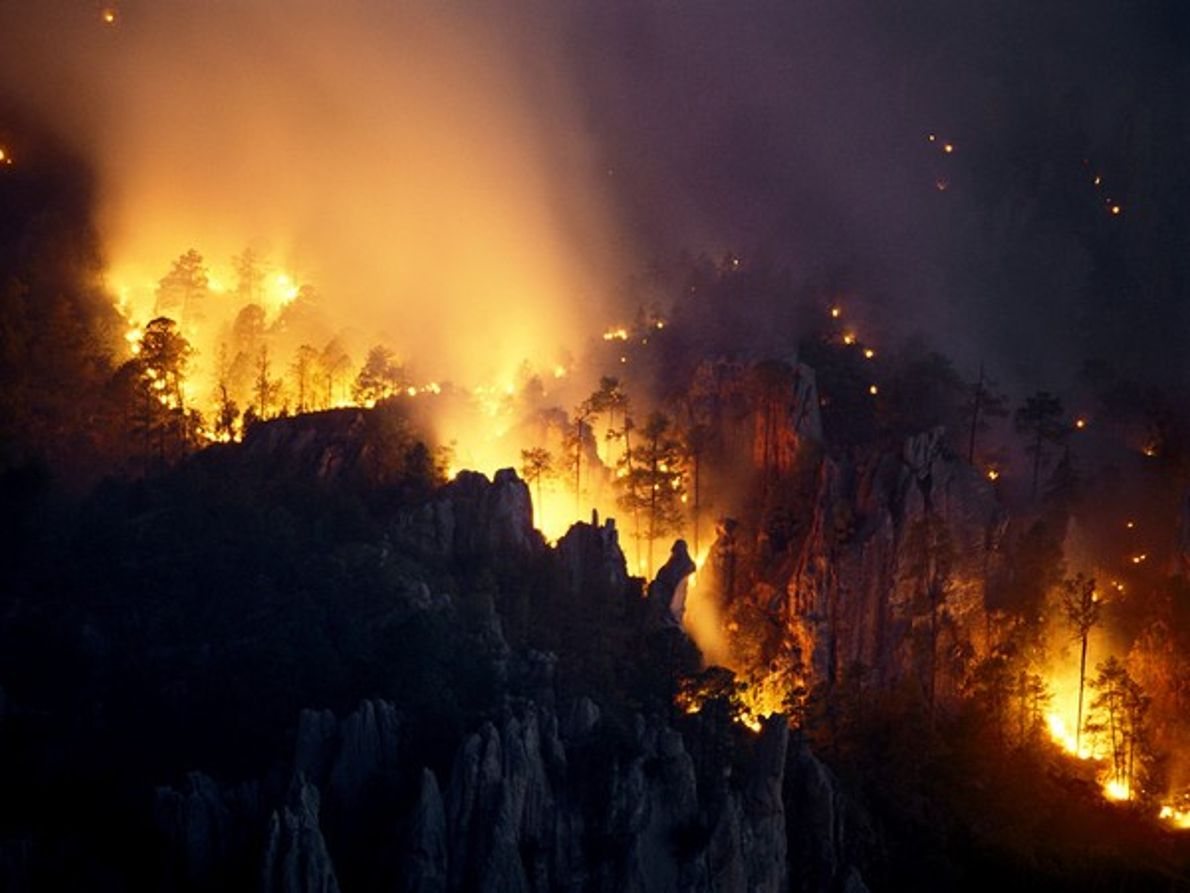 Fuego en México