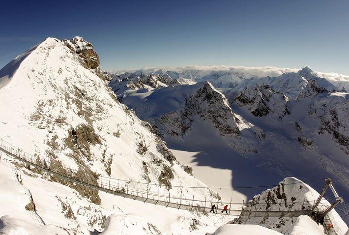 Mirador Alpes suizos