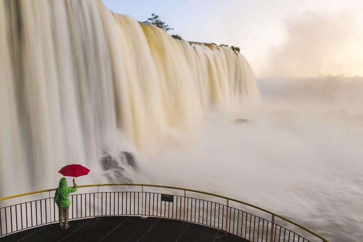Mirador cataratas Iguazu
