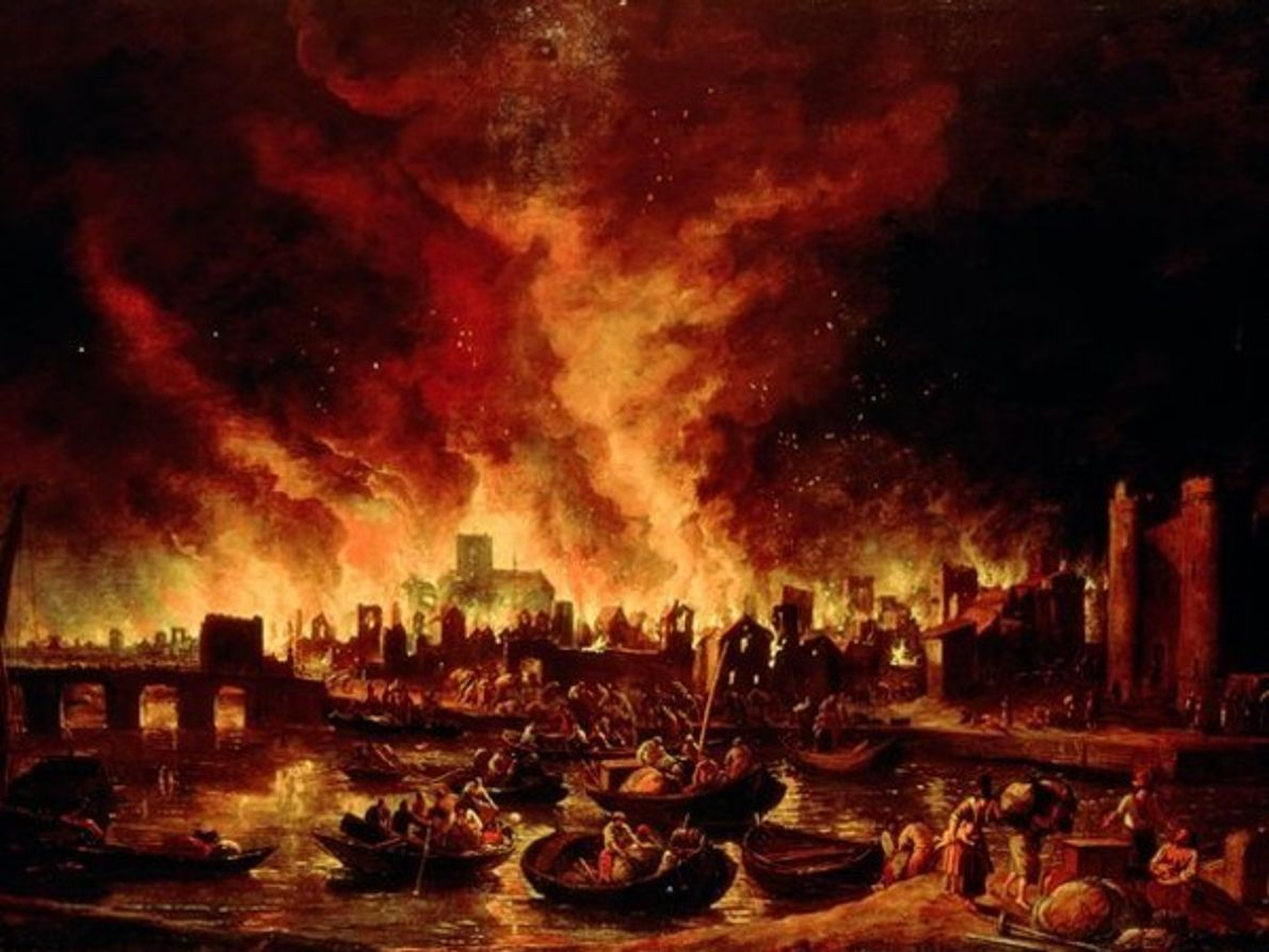 El Gran Incendio de Londres