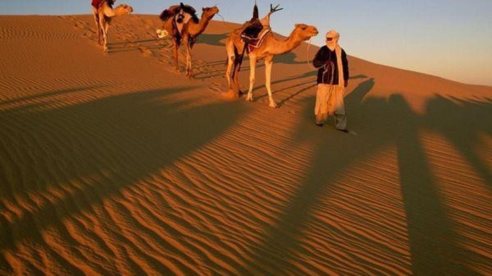 El desierto, Marruecos
