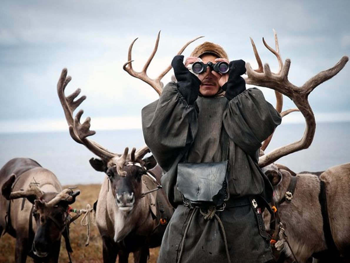 Pastor de renos, Siberia
