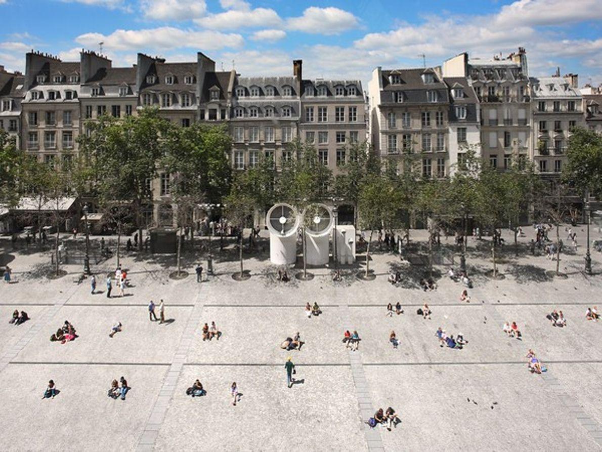 Vista de una calle de París