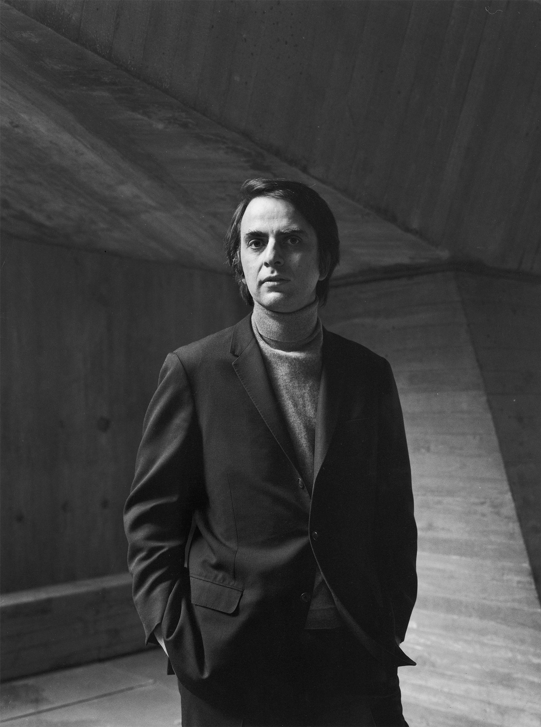 El astrónomo Carl Sagan fue el científico más importante de los Estados Unidos en los años ...