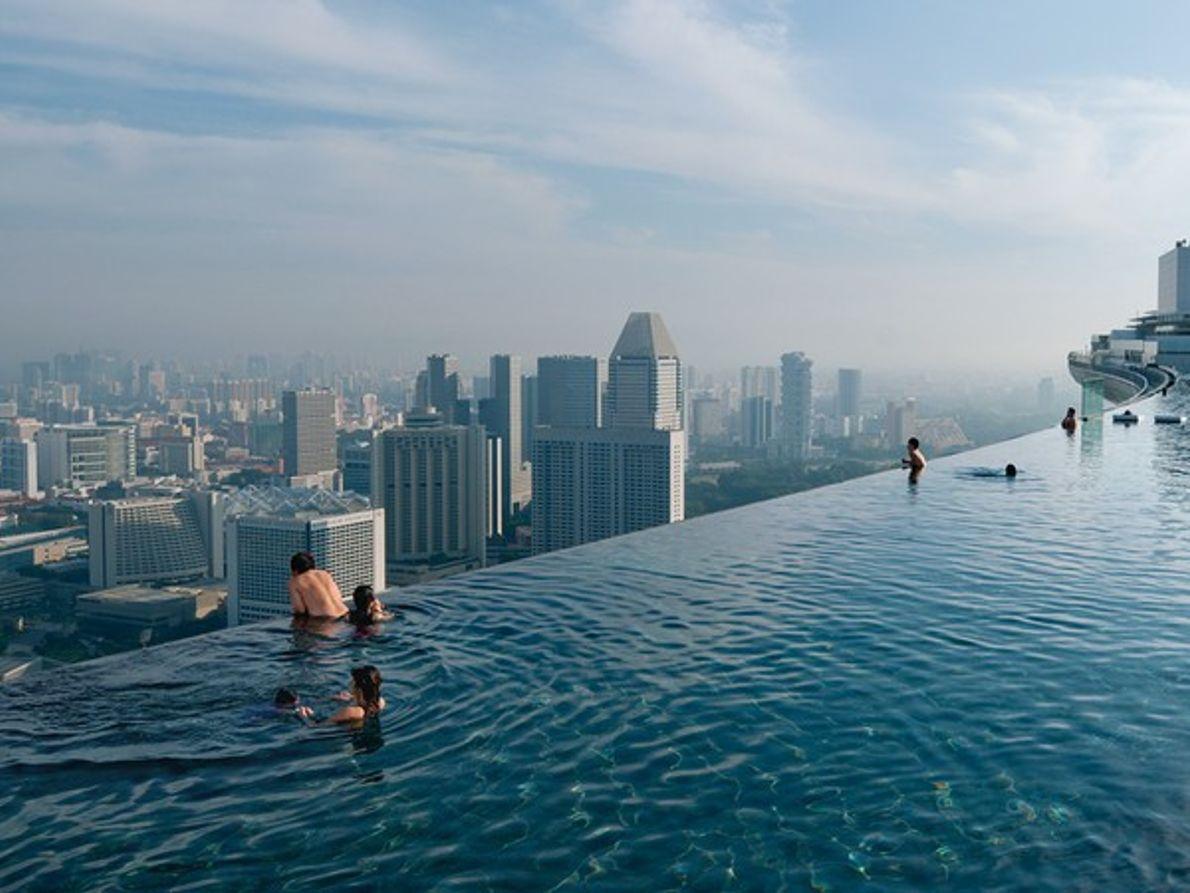 Piscina infinita, Singapur