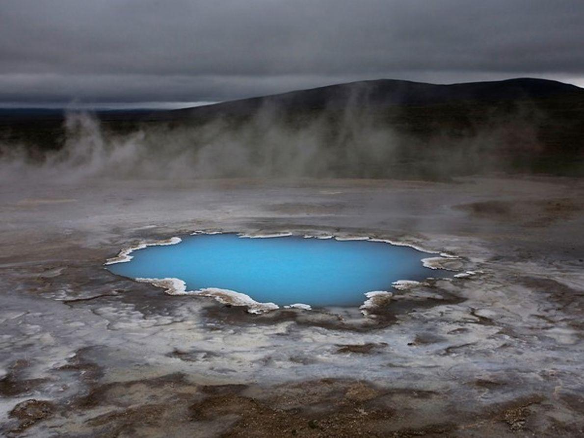 Estanque de Sílice, Islandia