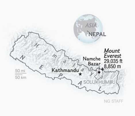 Los sherpas: los hombres invisibles del Everest