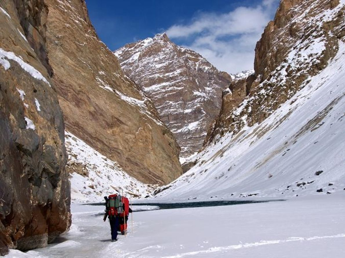Chadar Trek Zanskar River Valley, India