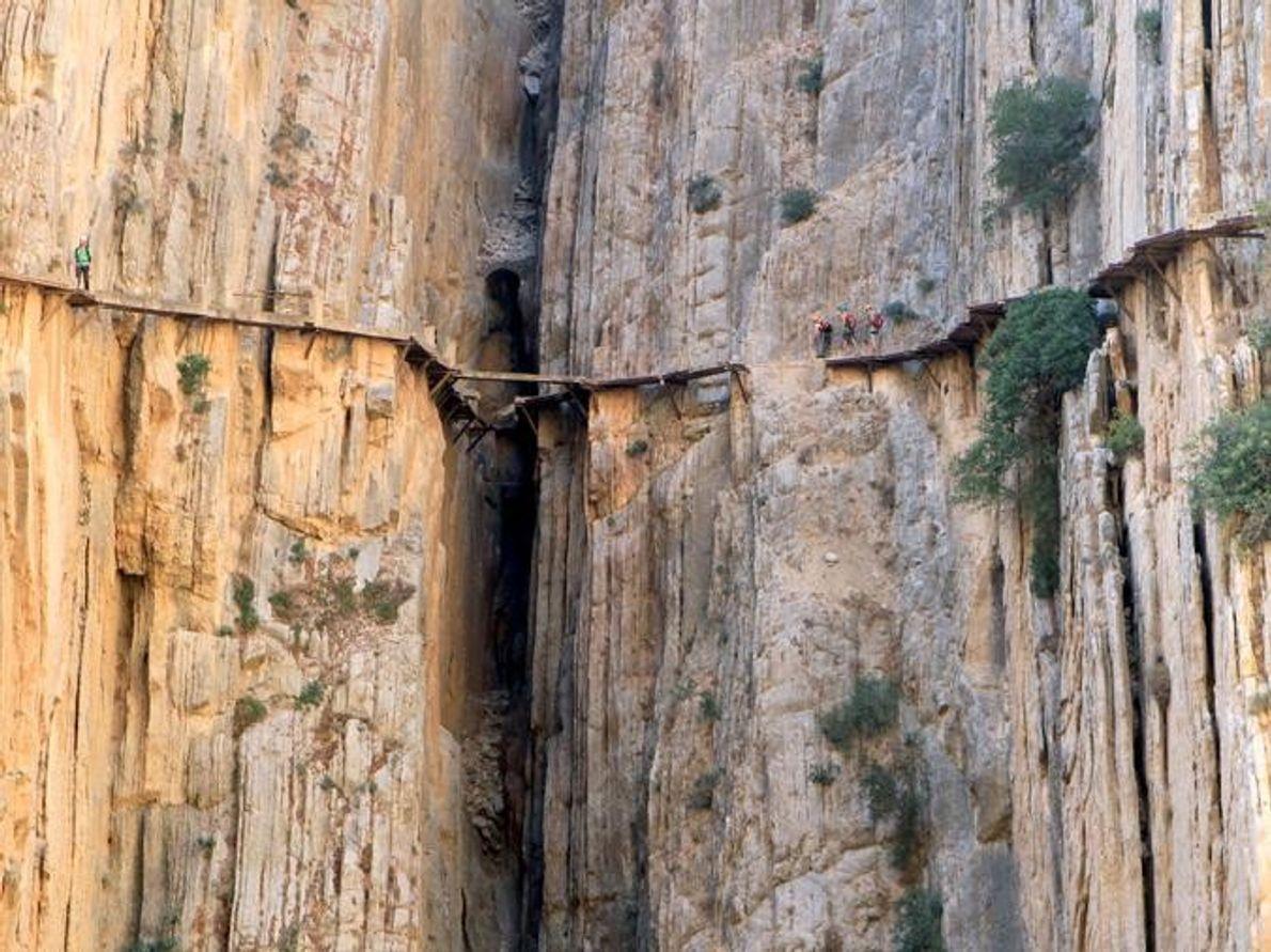 El Caminito del Rey El Chorro, España