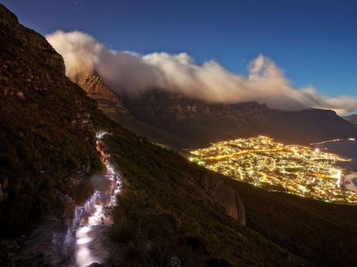 Cabeza de León Table Mountain National Park, Sudáfrica