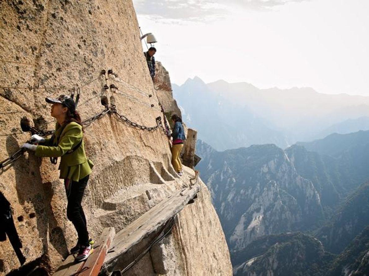 Monte Huashan Parque Nacional Huashan, China