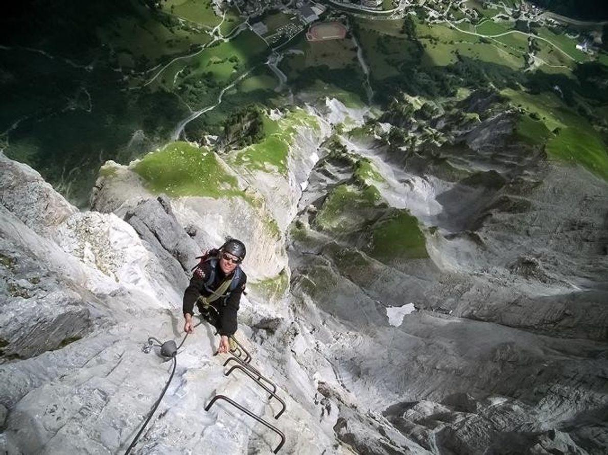 Leukerbad Via Ferrata Leukerbad, Suiza