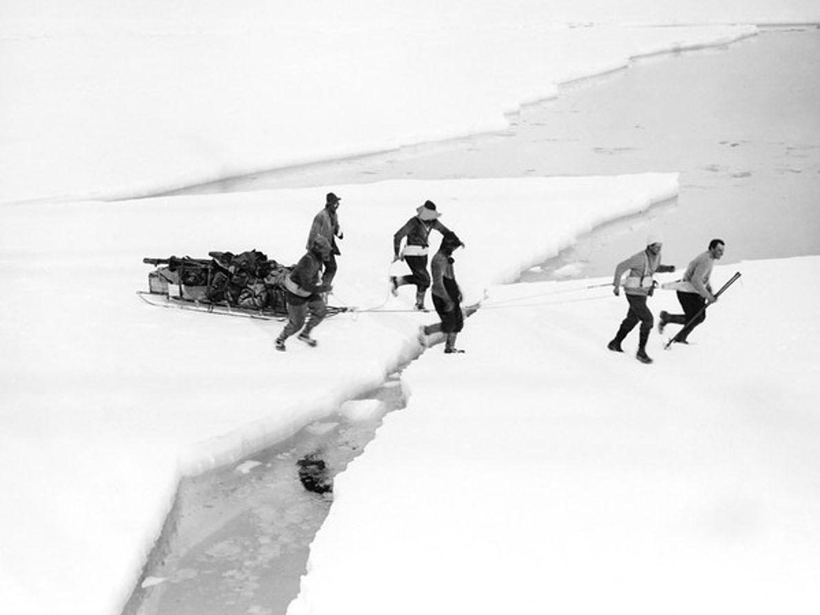 Cruzar ríos helados