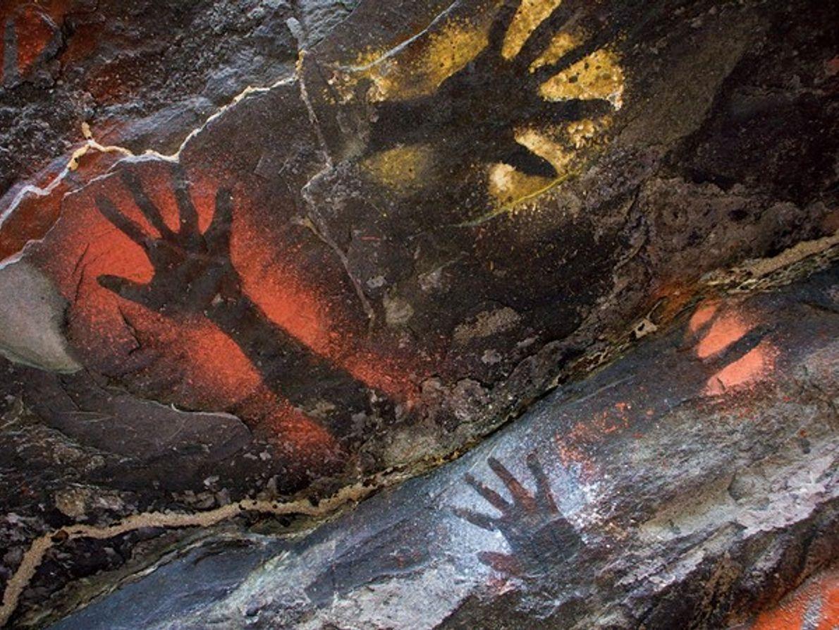Arte Rupestre, Papua Nueva Guinea