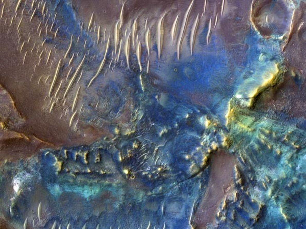 Diversidad marciana