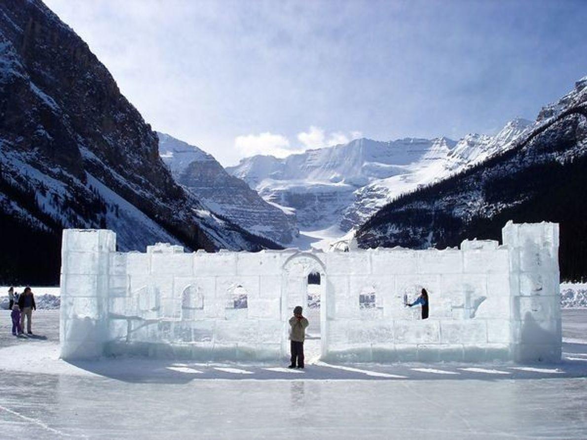 Esculturas de Hielo, Parque Nacional Banff