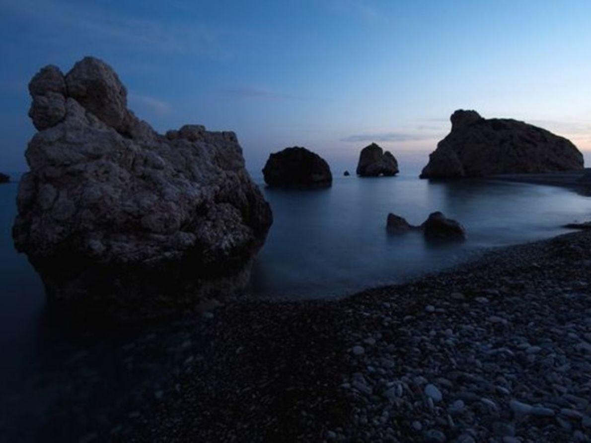 Roca de Afrodita, Chipre