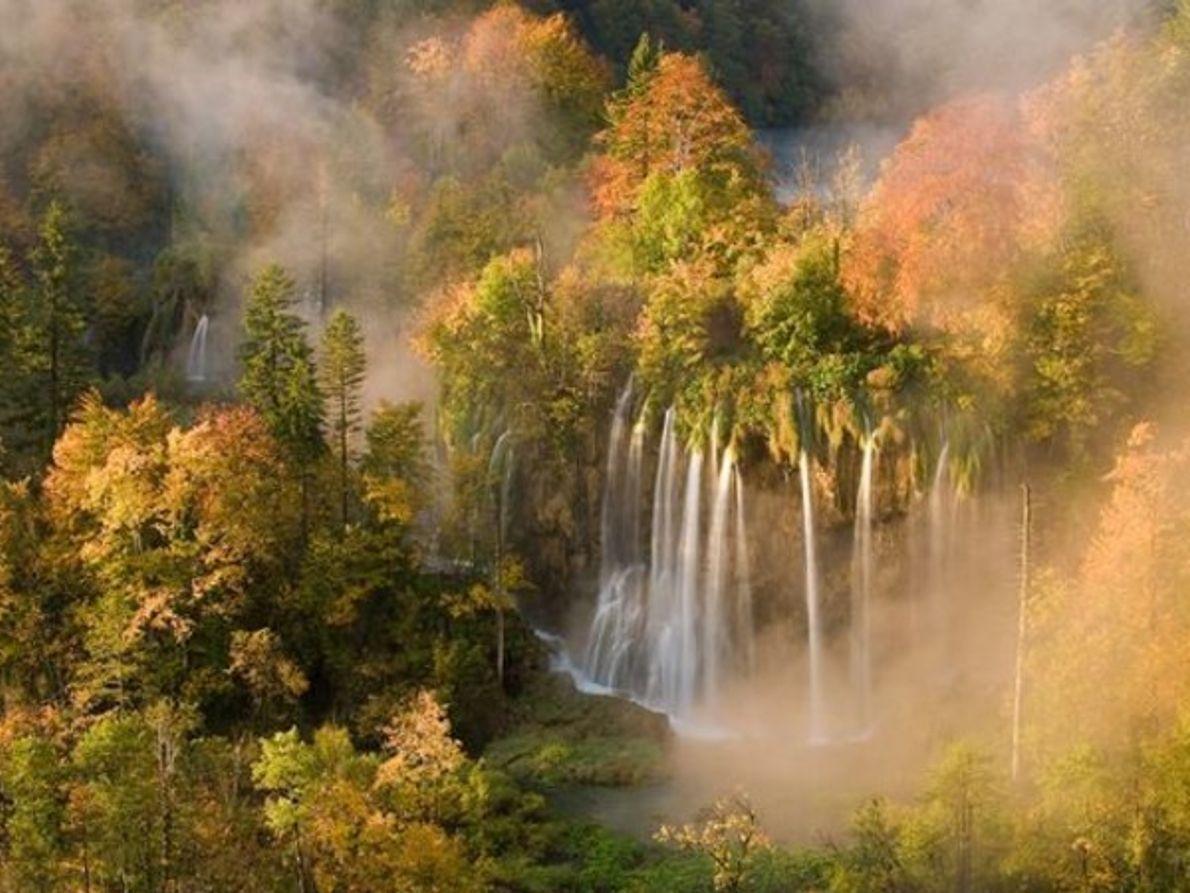 Cascadas, Croacia