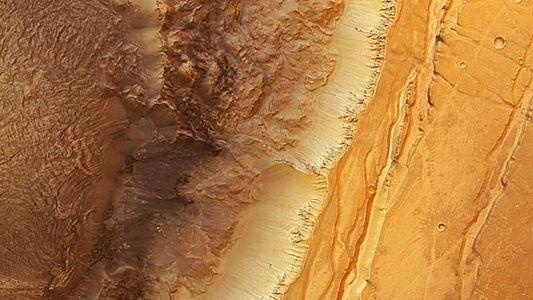 Fotos del espacio: Tormentas solares y Marte