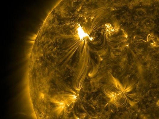 Una tormenta solar azota la Tierra cada 25 años