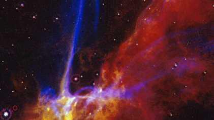 Astrónomos captan el momento justo en el que una estrella se convierte en agujero negro