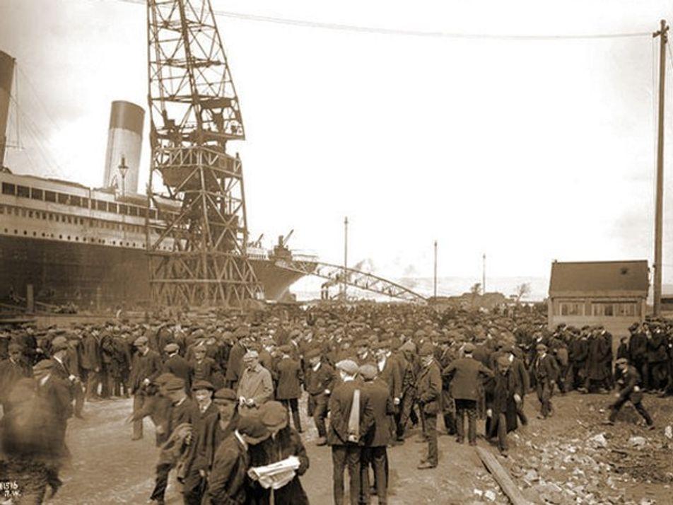 Titanic: fotografías del barco