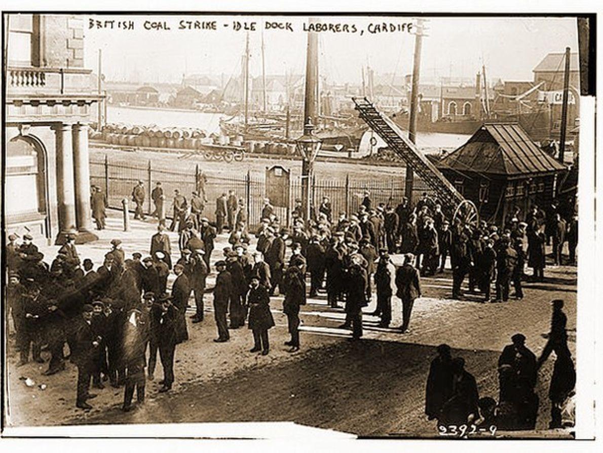 Huelga del carbón británico