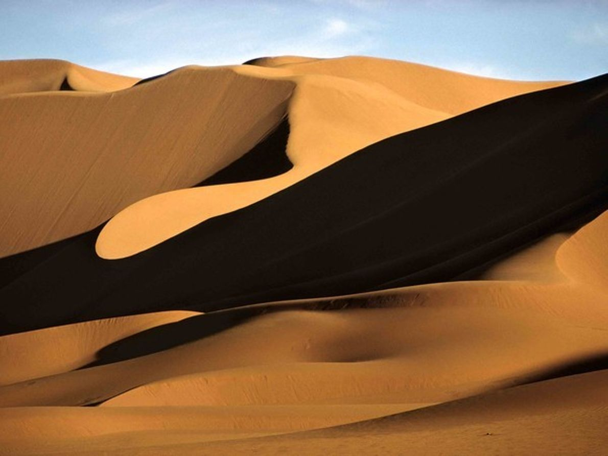 Dunas del Sahara, Argelia