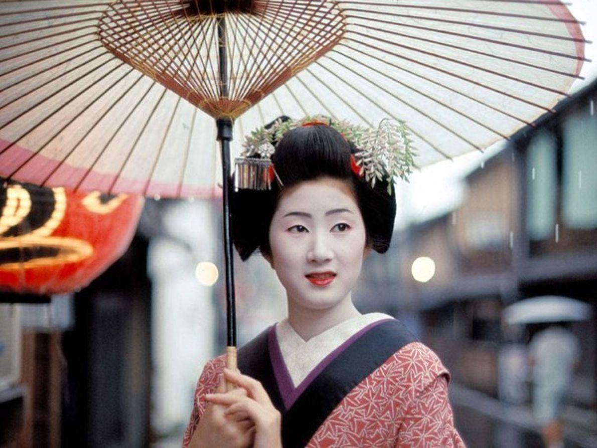 Geisha, Kioto